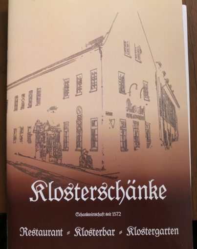 Restaurant Klosterhof Dresden Foodies